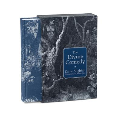 Inferno by Dante Divine Comedy New Cloth Bound Collectible Hardcover with Ribbon Antyki i Sztuka