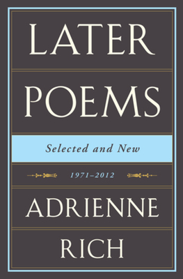 Later Poems Selected and New: 1971-2012 Cover Image
