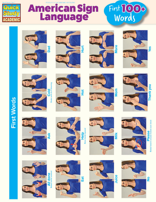 American Sign Language - First 100+ Words Cover Image