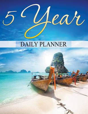 5 Year Daily Planner Cover Image