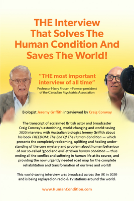The Interview That Solves the Human Condition and Saves the World! Cover Image
