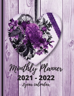 2 Year Calendar 2021-2022 Monthly Planner Cover Image