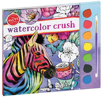 Watercolor Crush-Paint W/Water Cover Image