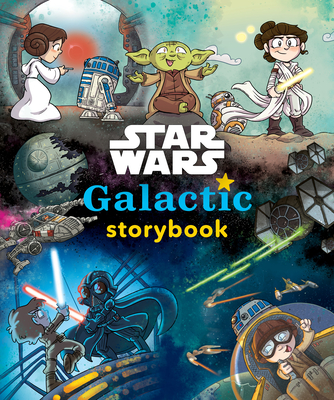Star Wars Galactic Storybook Cover Image