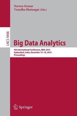 Cover for Big Data Analytics