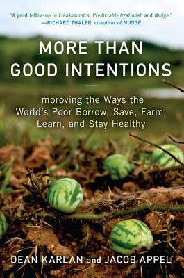 More Than Good Intentions: Improving the Ways the World's Poor Borrow, Save, Farm, Learn, and Stay Healthy Cover Image