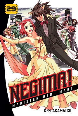 Negima! Magister Negi Magi, Volume 29 Cover