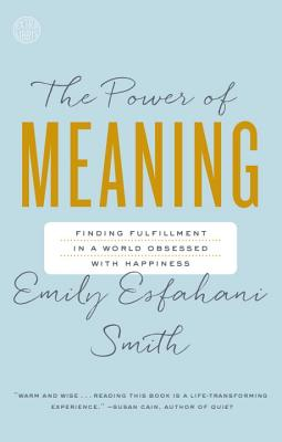 The Power of Meaning: Finding Fulfillment in a World Obsessed with Happiness Cover Image