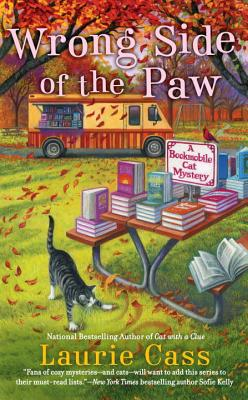 Wrong Side of the Paw (Bookmobile Cat Mysteries) Cover Image