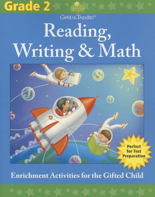 Gifted & Talented: Reading, Writing & Math, Grade 2 Cover Image