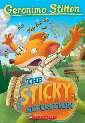 The Sticky Situation (Geronimo Stilton #75) Cover Image