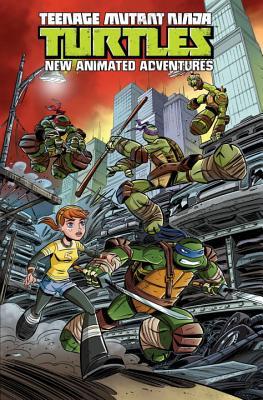 Teenage Mutant Ninja Turtles: New Animated Adventures Volume 1 (TMNT New Animated Adventures #1) Cover Image