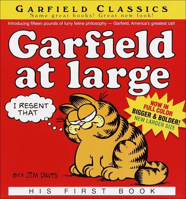 Garfield at Large (Garfield Classics (Pb) #1) Cover Image