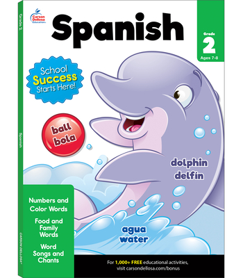 Spanish Workbook, Grade 2 Cover Image