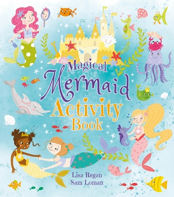 Magical Mermaid Activity Book Cover Image