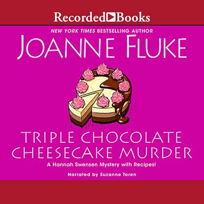 Triple Chocolate Cheesecake Murder (Hannah Swensen Mysteries #27) Cover Image