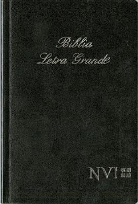 Biblia Letra Grande-NVI Cover Image