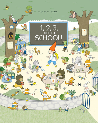 1, 2, 3, Off to School! Cover Image