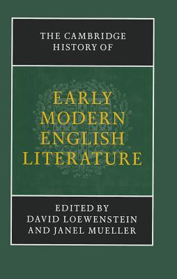 The Cambridge History of Early Modern English Literature (New Cambridge History of English Literature) Cover Image
