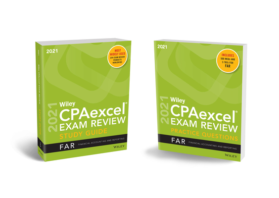 Wiley Cpaexcel Exam Review 2021 Study Guide + Question Pack: Financial Accounting and Reporting Cover Image