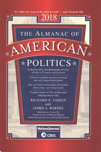 Almanac of American Politics 2018 (Us Congress Handbook (State Edition)) Cover Image