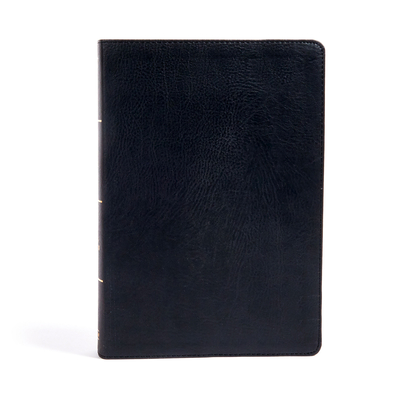 Cover for KJV Super Giant Print Reference Bible, Black LeatherTouch, Indexed