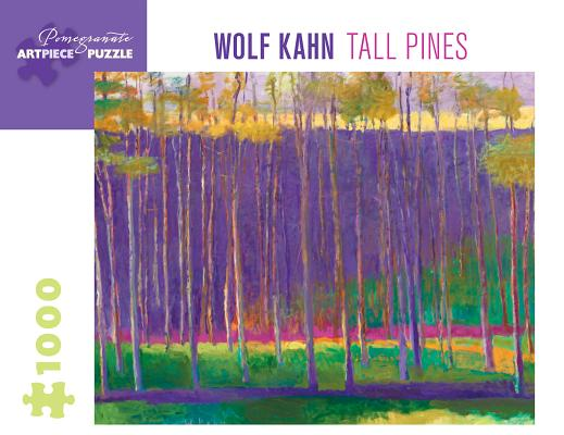 Wolf Kahn: Tall Pines 1000-Piece Jigsaw Puzzle Cover Image