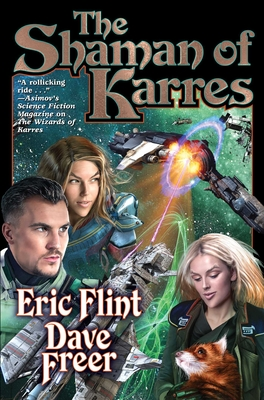 The Shaman of Karres (Witches of Karres #4) Cover Image