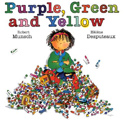 Cover for Purple, Green and Yellow (Munsch for Kids)