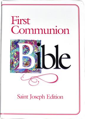 First Communion Bible-NABRE-Saint Joseph Cover Image