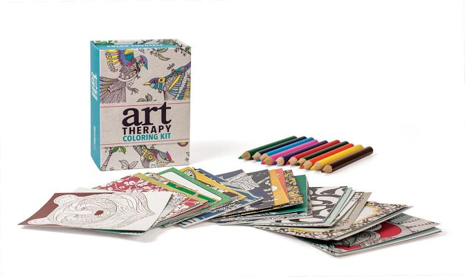 Art Therapy Coloring Kit (RP Minis) Cover Image