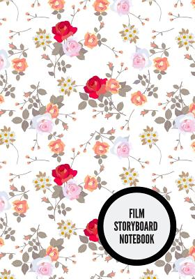 Film Storyboard Notebook: Portable Portable Film Notebook Clapperboard and Frame Sketchbook Template Panel Pages for Storytelling Story Drawing Cover Image