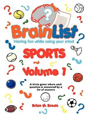 Brainlist Sports - Volume 1 Cover Image