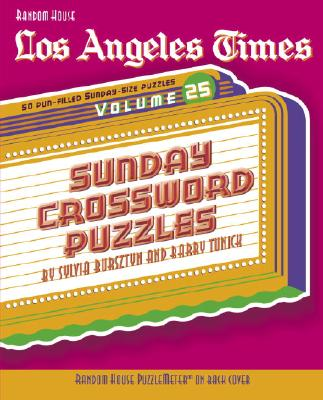 Los Angeles Times Sunday Crossword Puzzles Cover