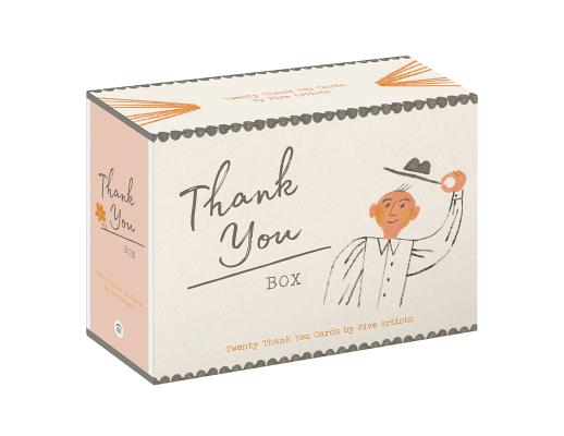 Thank You Box: 20 Thank-You Cards by 5 Artists (Blank Inside - All Occasion - 20-count Thank You Notecard Set) Cover Image