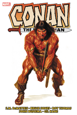 Conan the Barbarian: The Original Marvel Years Omnibus Vol. 5 Cover Image