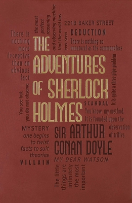 The Adventures of Sherlock Holmes (Word Cloud Classics) Cover Image