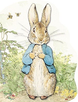 Peter Rabbit Large Shaped Board Book Cover Image