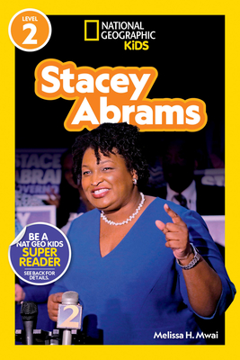 National Geographic Readers: Stacey Abrams (Level 2) Cover Image