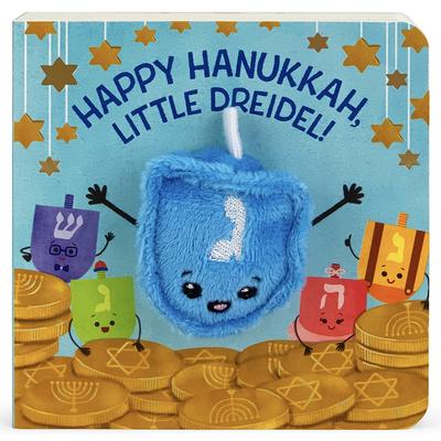 Happy Hanukkah, Little Dreidel Cover Image