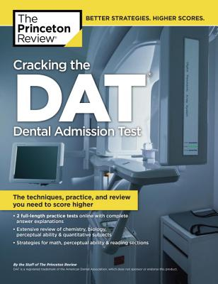 Cracking the DAT Cover Image