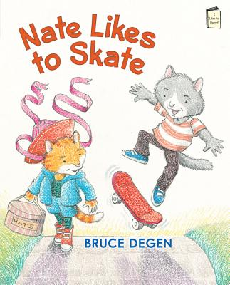 Cover for Nate Likes to Skate (I Like to Read)