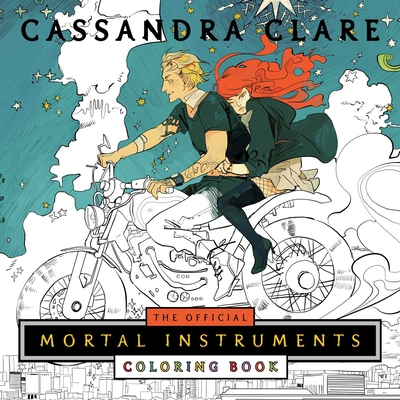 The Official Mortal Instruments Coloring Book (The Mortal Instruments) Cover Image
