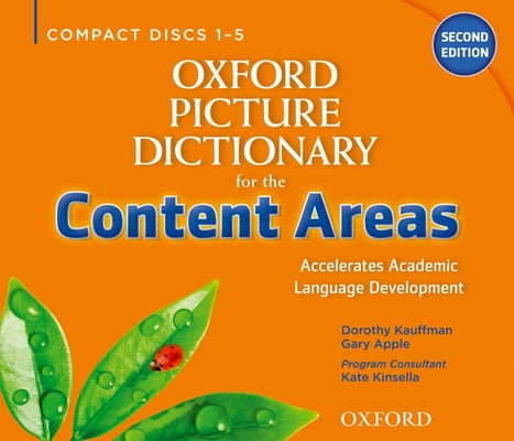 Oxford Picture Dictionary for the Content Areas Class Audio CDs (6) (Oxford Picture Dictionary for the Content Areas 2e) Cover Image