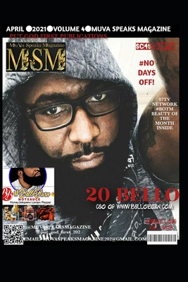 MuVa Speaks Magazine: volume4 Cover Image