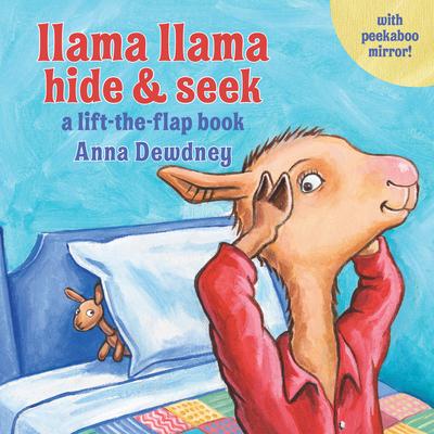 Llama Llama Hide & Seek: A Lift-the-Flap Book Cover Image