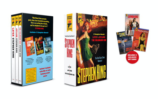 Hard Case Crime Stephen King Triple Collection Slipcase Cover Image