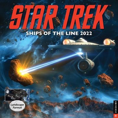 Star Trek Ships of the Line 2022 Wall Calendar Cover Image