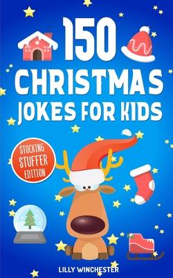 Christmas Jokes For Kids Cover Image
