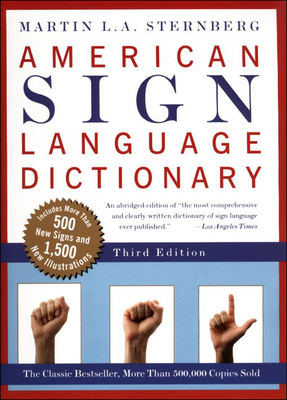 American Sign Language Dictionary Cover Image
